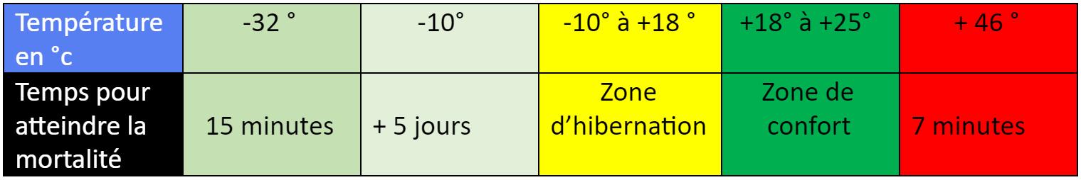 innovation anti punaises de lit températures létales punaises de lit